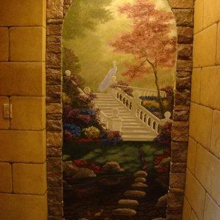 Exemple d'une cave à vin montagne.