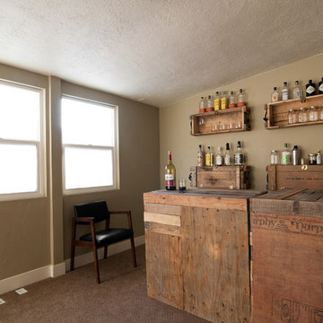 My Houzz: Eclectic Repurposing Fits First-Time Homeowners in Utah