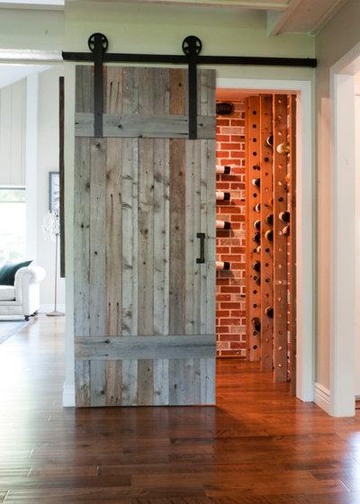 Transitional Wine Cellar by Angela Flournoy