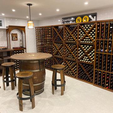 N'Finity & Sonoma Racking Wine Room