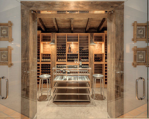 contemporary entry foyer partition and shelf wine cellar. Black Bedroom Furniture Sets. Home Design Ideas