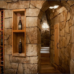 mediterranean wine cellar by Chicago Wine Cellar Expert Inc.