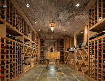 Naperville Realtor Luxury Custom Built Wine Cellar