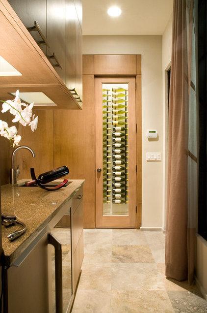 Modern Wine Cellar by Phil Kean Design Group