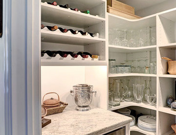New Pantry and Wine Cellar