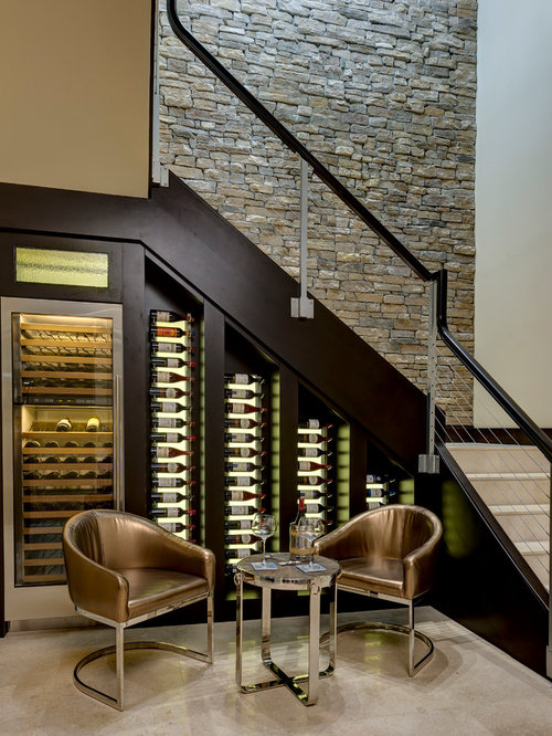 Wine Bar Under Stairs Ideas Pictures Remodel And Decor