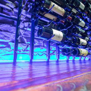 Réalisation d'une cave à vin.