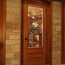 Traditional Wine Cellar by Lakeshore Wine Cellars