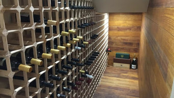 Oak Modular Wine racking