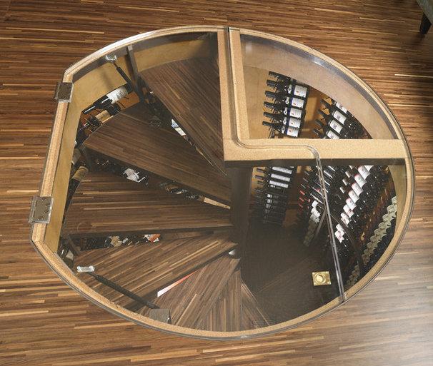 Modern Wine Cellar by ie: Designs