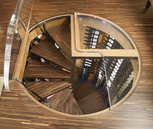 Contemporary Wine Cellar by ie: Designs