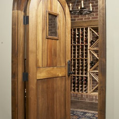 traditional wine cellar by Structures, Inc.