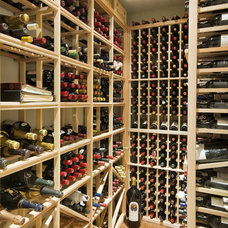Traditional Wine Cellar by Odenza Homes Ltd