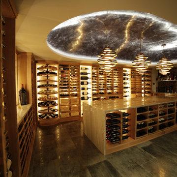 Oklahoma Custom Wine Cellar