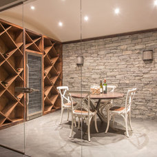 Transitional Wine Cellar by SIR Development