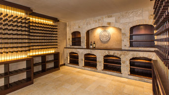 Old Meets New Wine Cellar