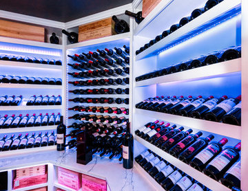 Old Westbury Long Island Modern Wine Cellar