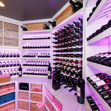 Old Westbury Long Island Modern Wine Cellar