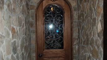 Old World Custom Wine Cellar