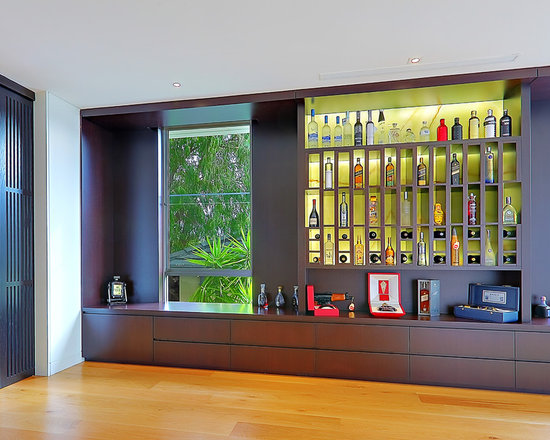 liquor display cabinet