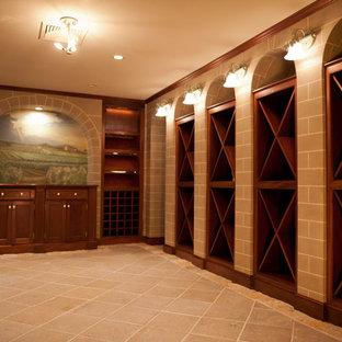 Optimus Painting and Iris Lee Marcus, Wine Cellar, Lincoln, Massachusetts
