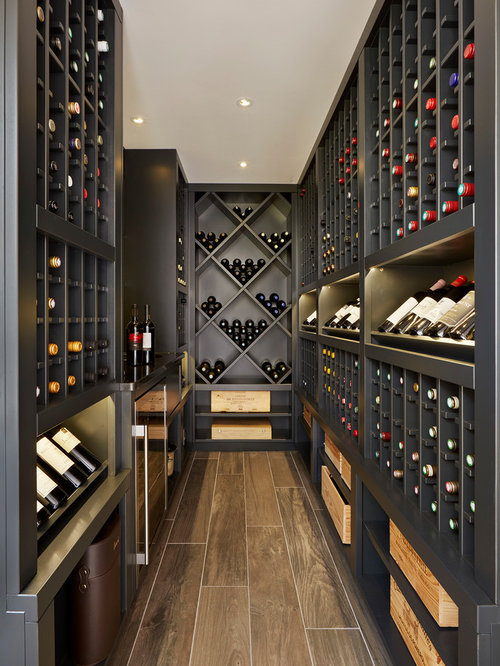 Wine Cellar   Contemporary Wine Cellar Idea In Surrey