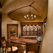 Southwestern Wine Cellar by Urban Design Associates
