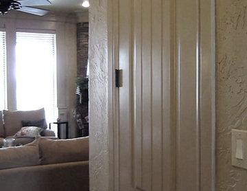 Original Door Burke Home Wine Cellar Project Dallas