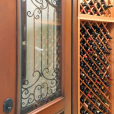 Traditional Wine Cellar by R&J Contruction