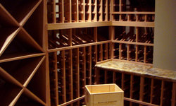 Pacific Heights Home Wine Cellar