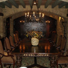 Traditional Wine Cellar by Bethany Lewis, R.I.D.