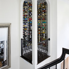 Contemporary Wine Cellar by Kristin Drohan Collection and Interior Design