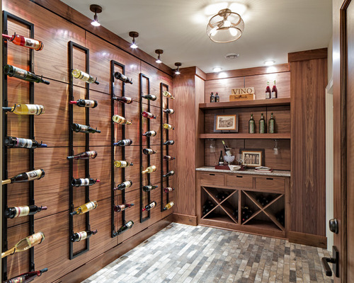 Wine Cellar Design Ideas view in gallery mediterranean wine cellar with french inspiration by jauregui architecture 16 Raised Floor Bed Transitional Wine Cellar Design Photos