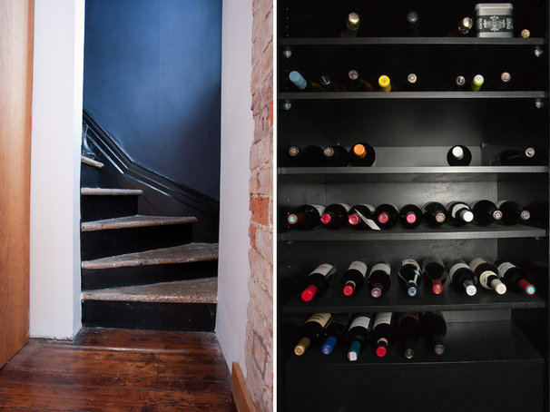 Traditional Wine Cellar by Jenn Hannotte / Hannotte Interiors