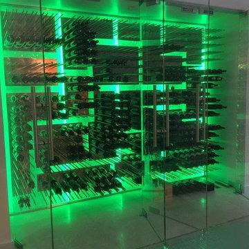 PEG System - Stainless Steel Wine Racks by Genuwine Cellars