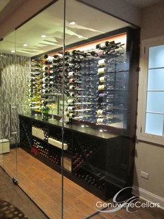 The Wave House Modern Wine Cellar Vancouver By
