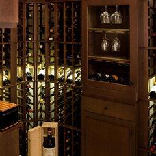 Modern Wine Cellar by Light Positive