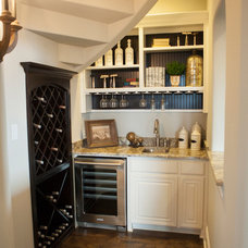 Traditional Wine Cellar by Shaddock Homes
