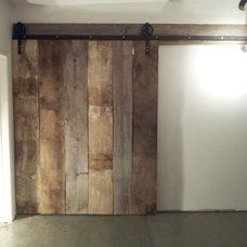 Rustic Wine Cellar by REBARN
