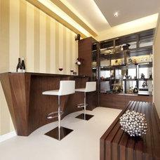 Modern Wine Cellar by S.I.D.Ltd.