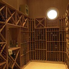 Wine Cellar by Sterling Custom Homes
