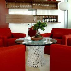 Contemporary Wine Cellar by poggi design