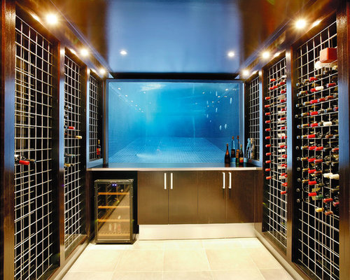 Wine cellar design ideas renovations photos for Cost to build a wine cellar