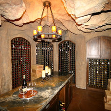 Eclectic Wine Cellar by Amaron Folkestad GC Steamboats Builder