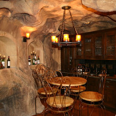 Traditional Wine Cellar by Amaron Folkestad GC Steamboats Builder