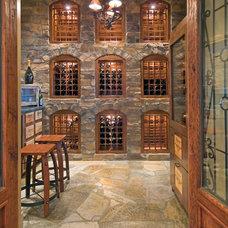 Mediterranean Wine Cellar by Studio 81 International