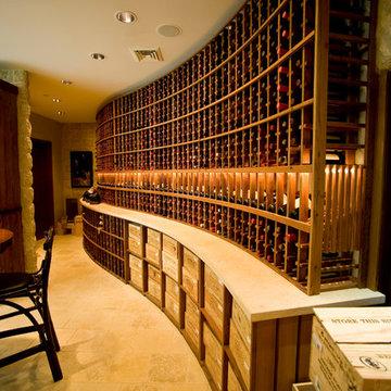 Private Residence Wine Cellar