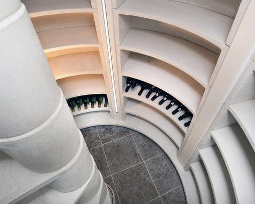 & Underground Spiral Staircase Wine Cellars UK