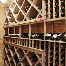 Traditional Wine Cellar by Dwellings