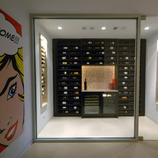 Modern Wine Cellar by DLFstudio